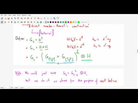 Selected Topics in Graph Theory lecture 13: zig-zag construction of expanders