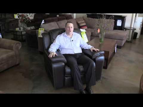 Sanford furniture, leather recliner Bassett Furniture, Hudson's Furniture in Orlando area