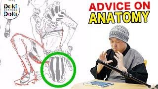 JAPANESE PRO ADVICE on Subscriber Drawings!|Figure ANATOMY