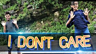 I DON'T CARE | HIPHOP DANCE COVER | CHOREOGRAPHED BY AJAY KASHYAP | LET'S NAACH DANCE ACADEMY