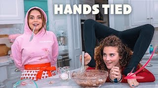 BAKING WITH NO HANDS (feat. Rosanna Pansino)