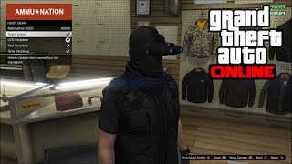 GTA 5 Online - How To Get Night Vision Goggles in Freeroam Online! (GTA 5 Heist Gear Gameplay)
