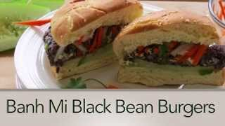 Black Bean Burger Recipe -- Easy Vegan Recipes -- The Frugal Chef