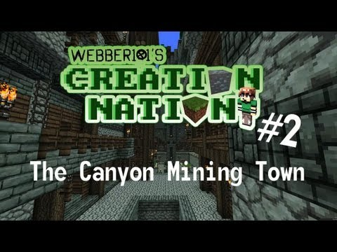 The Canyon Mining Town - Creation Nation