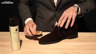 Suede Shoe Care - Monsieur Chaussure