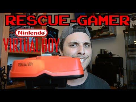 Rescue-Gamer: Nintendo Virtual Boy