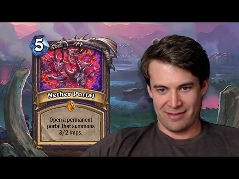(Hearthstone) Opening the Nether Portal