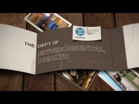 The Department of Environmental Health