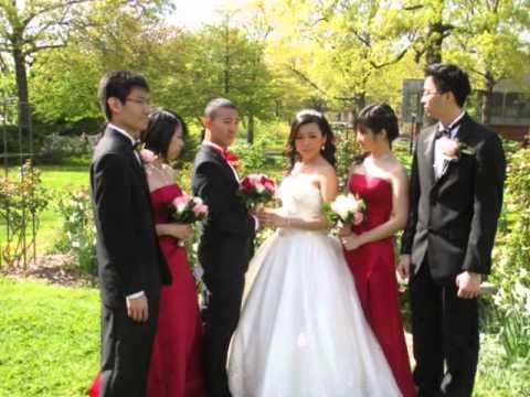 Soe Su San Wedding Pictures At Queens Botanical Garden.