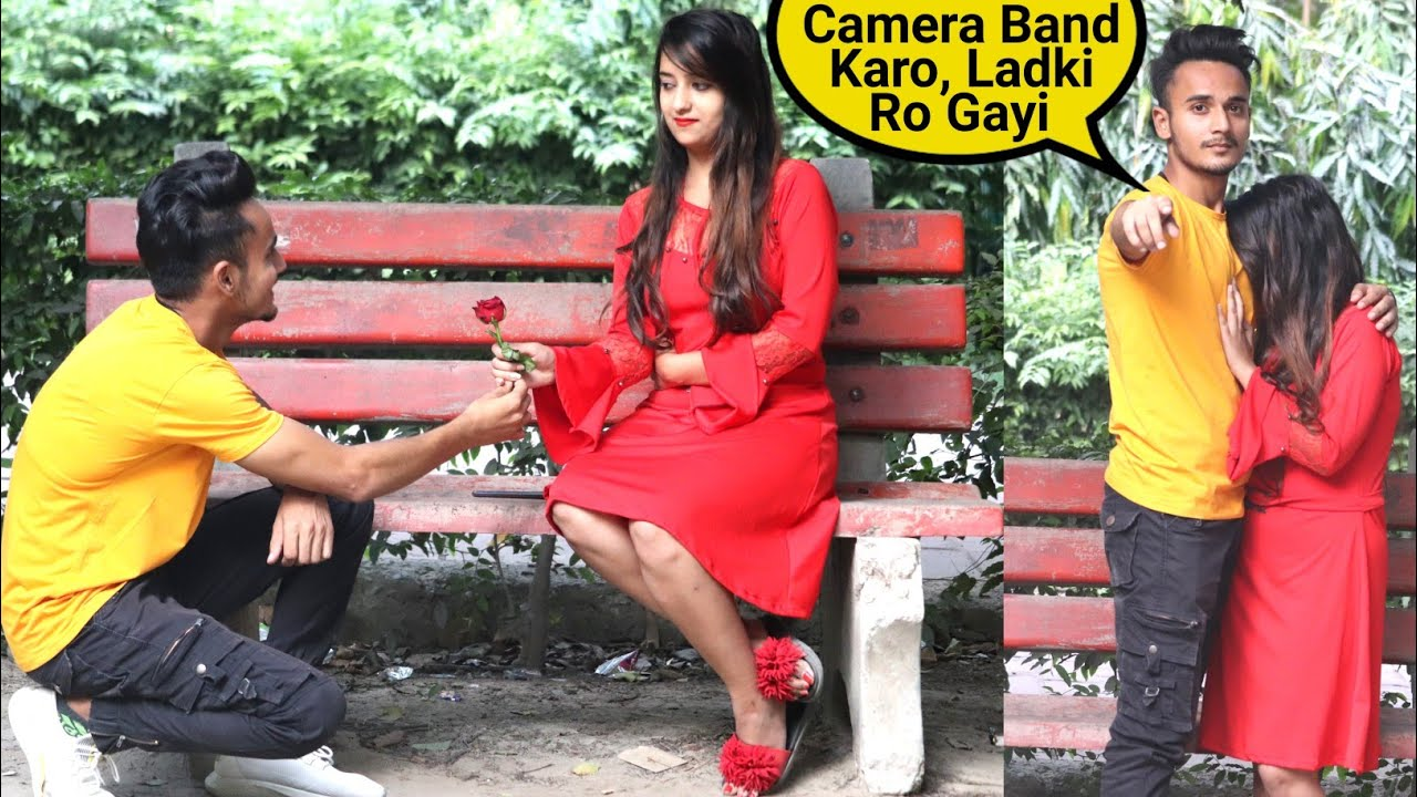 Proposing Prank on Aanchal Kaur (Part 2) || Sam k Official