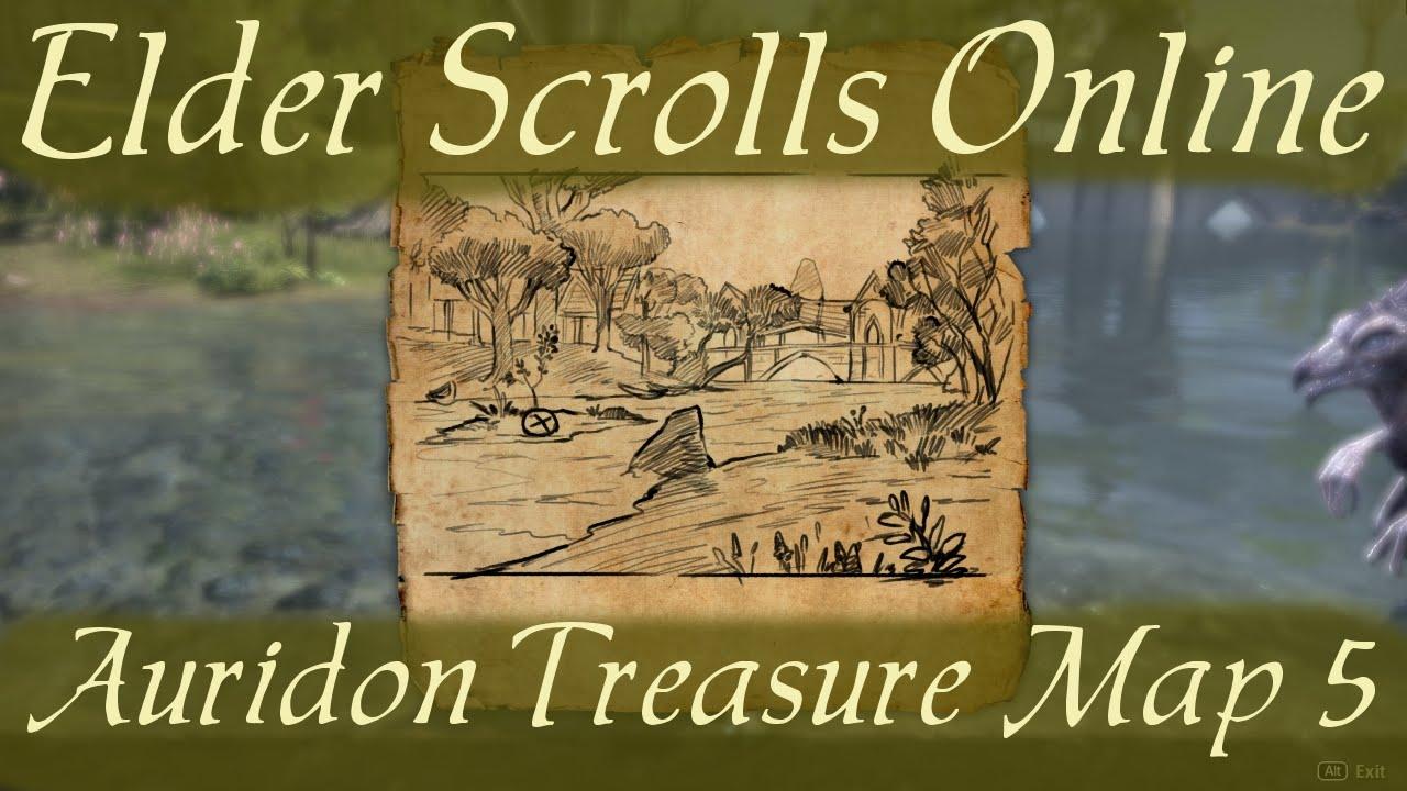 Auridon Treasure Map 5 [Elder Scrolls Online] - YouTube