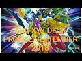 Yu-Gi-Oh! BEST! ABC XYZ DECK PROFILE SEPTEMBER 2018