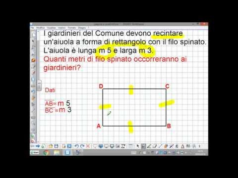 problema rettangolo somma e differenza dimensioni from YouTube · Duration:  4 minutes 13 seconds