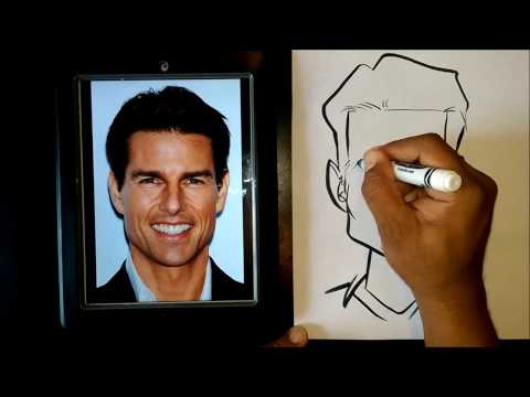 How To Draw A Caricature Using Easy Basic Shapes thumbnail