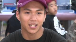 """イッセイ:放送未公開インタビュー """"TOKYO MX「TEAM G-SHOCK The Face」"""""""