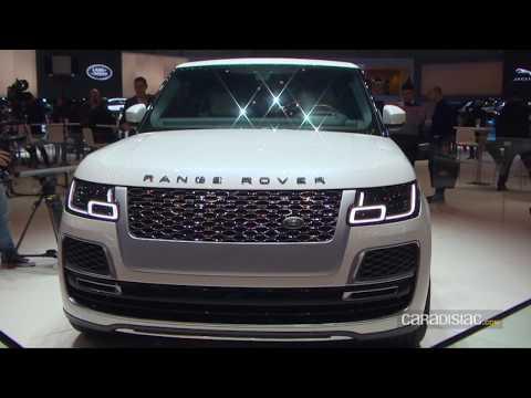 Range Rover SV Coupé - Salon de Genève 2018