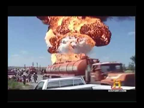 Crude Oil Boilover Explosion