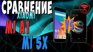Сравнение Xiaomi Mi 5X и Mi A1/ Арстайл /