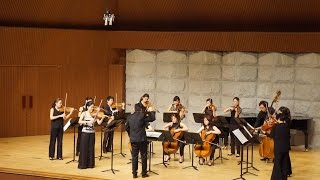 Sukhi Kang: Four Seasons for Solo Violin and 14 Strings(2006) (Kyungsun Lee, SNU Virtuosi)