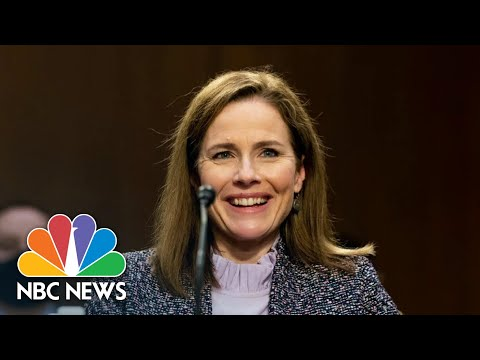 Senate Votes To Confirm Amy Coney Barrett To Supreme Court | NBC News NOW