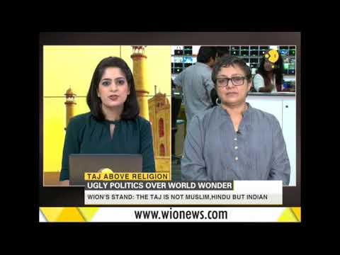 Taj above religion: Ugly politics over world wonder