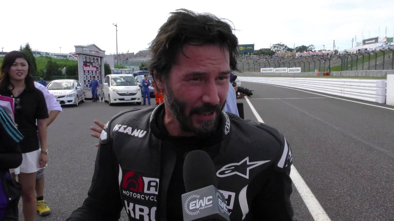 Keanu Reeves interview extract at Suzuka 8 hours 2015 ...
