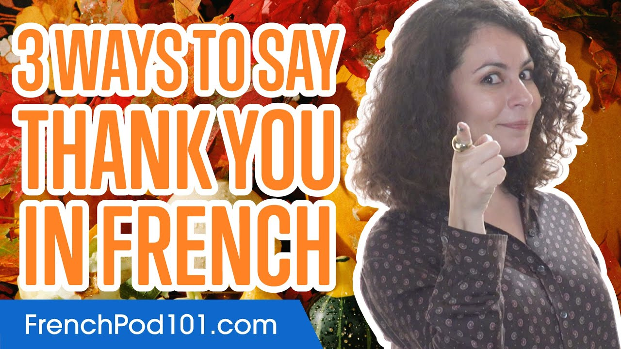 how to say thank you so much in french