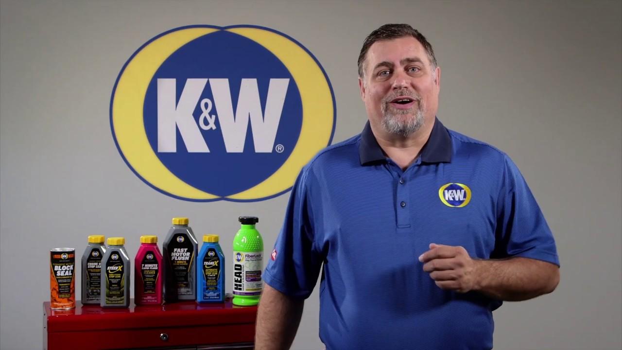 K W Fiberlock Head Gasket Block Repair Youtube