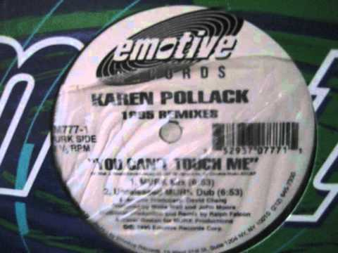 Karen Pollack - You Can't Touch Me