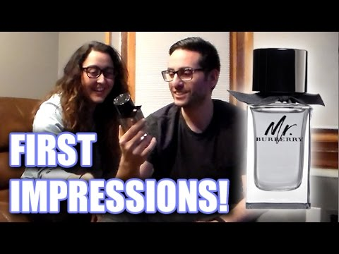 b3597aa1a8 Mr. Burberry First Impressions Review With my Wife! - YouTube