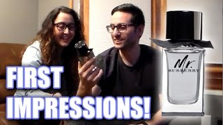 Mr. Burberry First Impressions Review With my Wife!