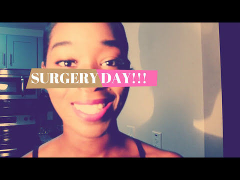 VLOG#5 SURGERY DAY: *From an A cup to small C cup (correctio