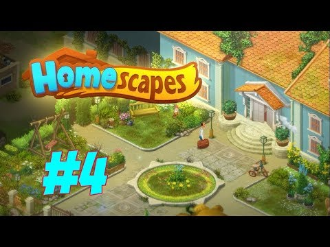 HOMESCAPES Gameplay Story Walkthrough Video | Hall Area Finished and Kitchen