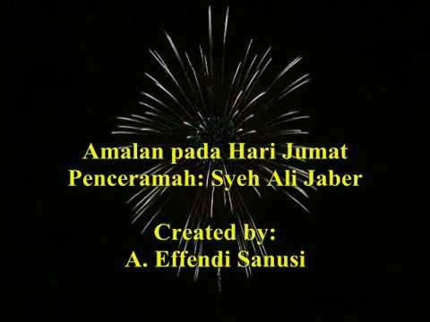 Amalan pada Hari Jumat--Syeh Ali Jaber