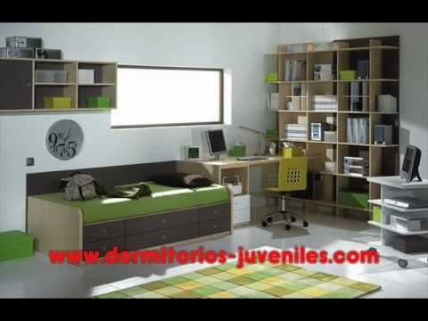 Como decorar dormitorios Juveniles - YouTube