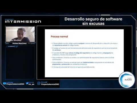 """Ciberseguidad y Cibercrimen: """"Desarrollo seguro de software sin excusas"""""""