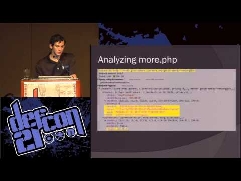 Defcon 21 - Exploiting Music Streaming with JavaScript