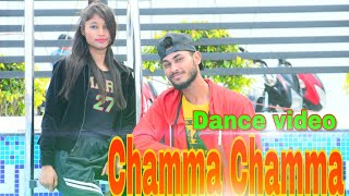 Chamma Chamma dance video //choreographer //Gaurav Rawat...
