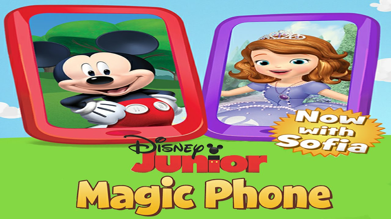 d5121cfef Disney Junior Magic Phone with Sofia the First and Mickey Mouse (Disney) -  Best App For Kids - YouTube