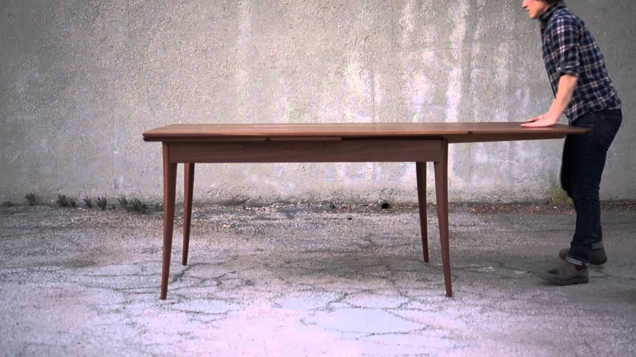 Walnut Dutch Pullout Dining Table Youtube