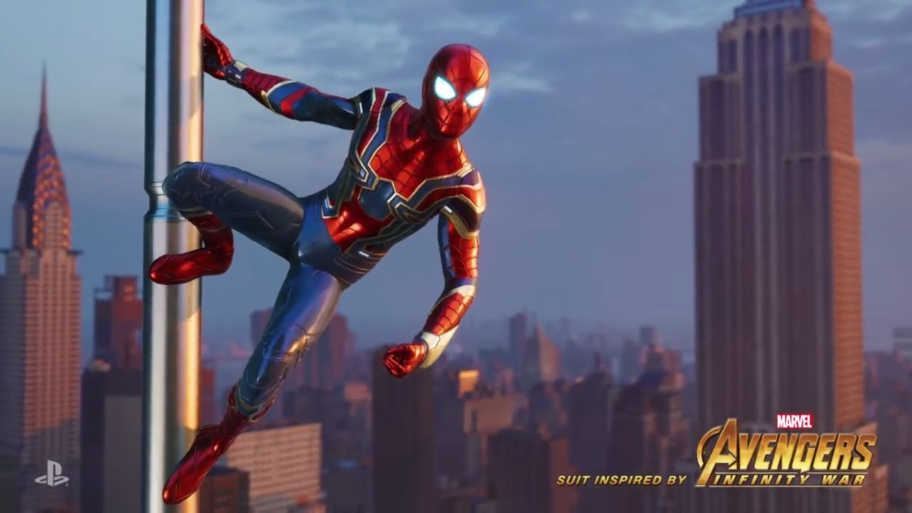 Marvel's Spider-Man - Iron Spider Suit Revealed
