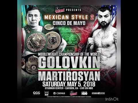 Breaking news GGG is fighting Cinco De Mayo vs Vanes Martirosyan