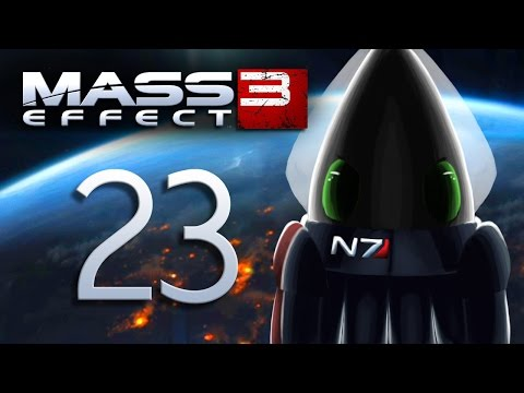 Mass Effect 3 ~Part 23~ Hospital Asari, Memorial Wall, and Allers Rejected!