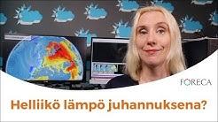 Juhannuksen sää: Käristyskupolin tilalle virtaa leppeä lämpö!