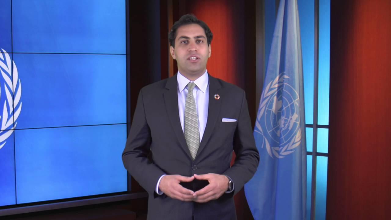 Ahmad Alhendawi un secretary-general's envoy on youth, ahmad alhendawi, at the unodc youth  forum