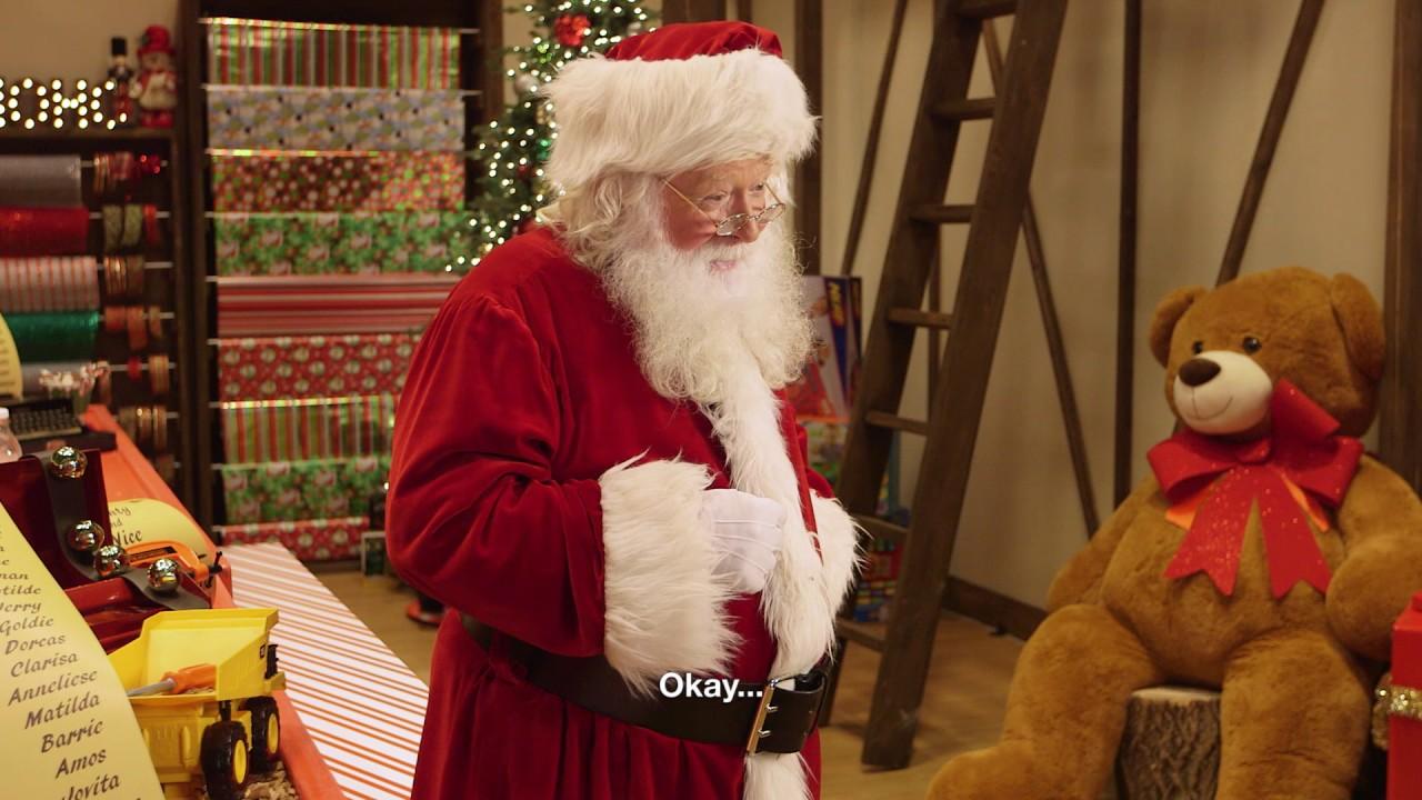 Canada\u0027s Christmas Door - Reactions to Santa & Canada\u0027s Christmas Door - Reactions to Santa - YouTube