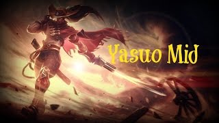 HIGH NOON YASUO MID LEAGUE OF LEGENDS  | YASUO GAMEPLAY GUIDE