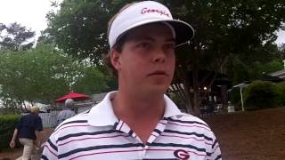 Keith Michell, UGA golfer at Stadion Classic