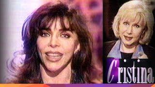 "Verónica Castro en ""El Show de Cristina"" - 2da. parte - 1997"