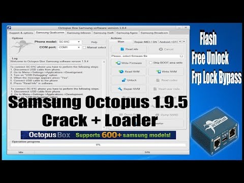 octopus box samsung software crack free download